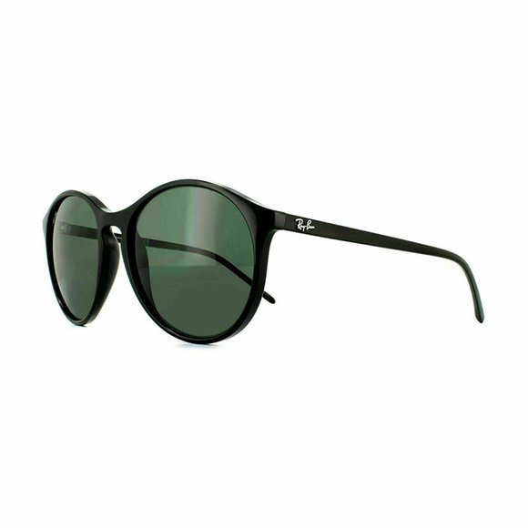 Ray-Ban Round Style Green Lens.